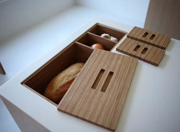Встроенные хлебницы