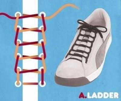 интересная шнуровка обуви