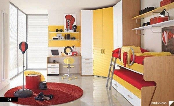 цвета в детской комнате10