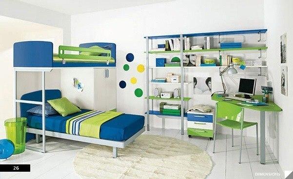 цвета в детской комнате2