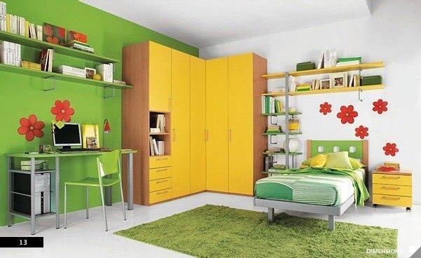 цвета в детской комнате3