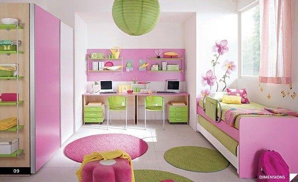 цвета в детской комнате4