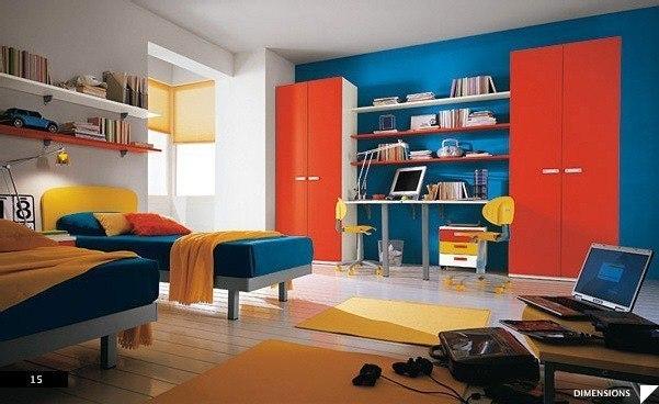 цвета в детской комнате6