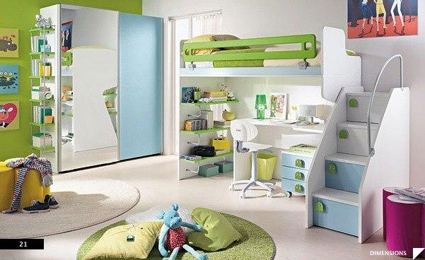 цвета в детской комнате7