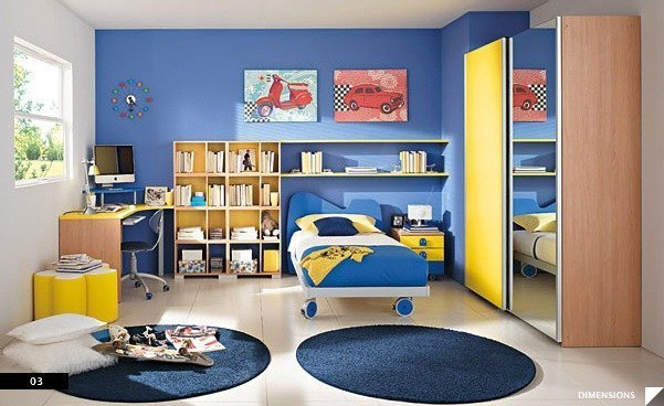 цвета в детской комнате8
