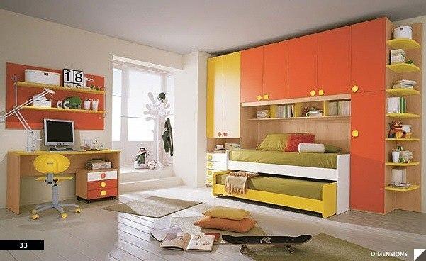 цвета в детской комнате9
