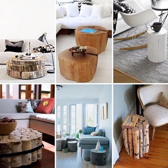 мебель из настоящих деревьев2