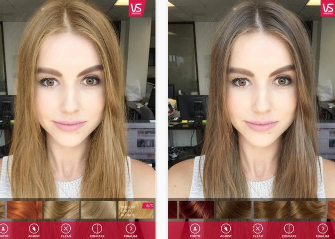 печатью приложение которое делает макияж и осветляет фото необходимости можете регулировать